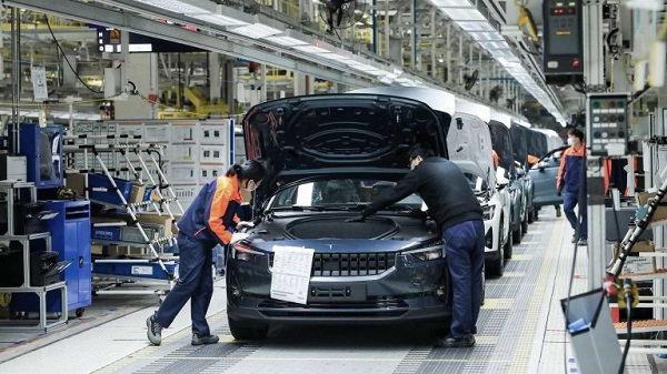 Image-of-polestar-2-factory-in-china-amidst-coronavirus-scare