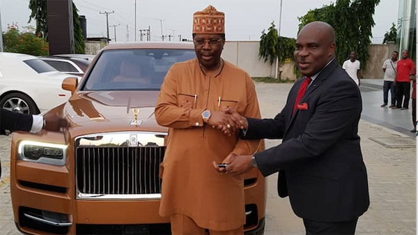 image-of-coscharis-delivering-luxury-SUV-to-akin-olugbade