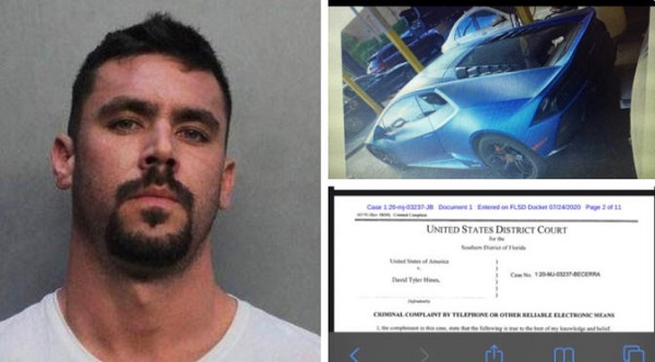 image-of-man-arrested-for-using-covid-19-money-on-2020-lamborghini-huracan