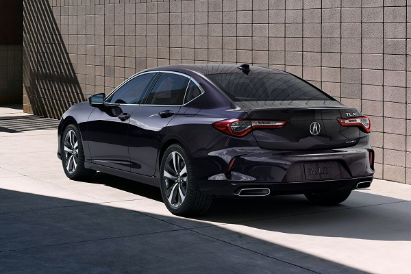 image-of-2021-Acura-TLX-rear-view