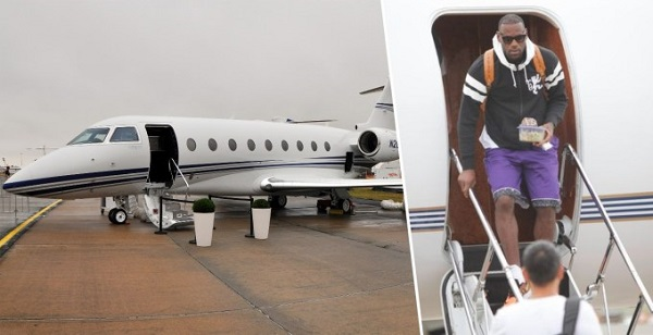 image-of-Lebron-James-cars-houses-and-Private-jet