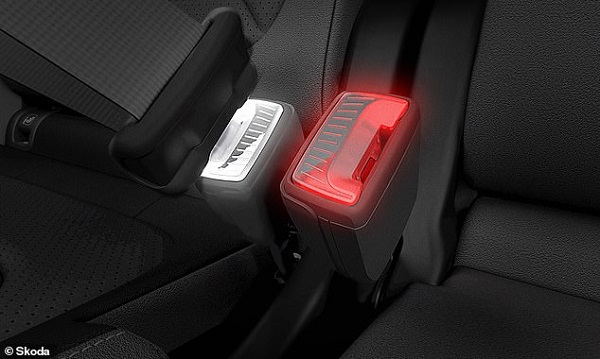 image-of-skoda-illuminated-seatbelt-buckle
