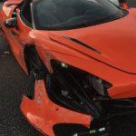 Rented McLaren 720S totaled while racing Lamborghini Huracan in California