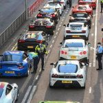 Over 45 supercars pulled over by Hong Kong police for alleged street racing