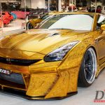 Can you buy this gold chrome 2014 Nissan GT-R for more than a half a million dollars?