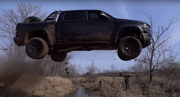 Youtuber-Ram-1500-TRX-charged-for-wild-offroading