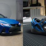 Lexus you can wear: exclusive sneakers inspired by IS 350 F Sport