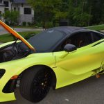 Thieves steal and crash McLaren 720S owned by ex-NFL player