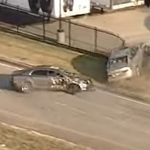 Chevy Malibu Driver Leads Cops In Chase, Fails After Crashing Into Another Car